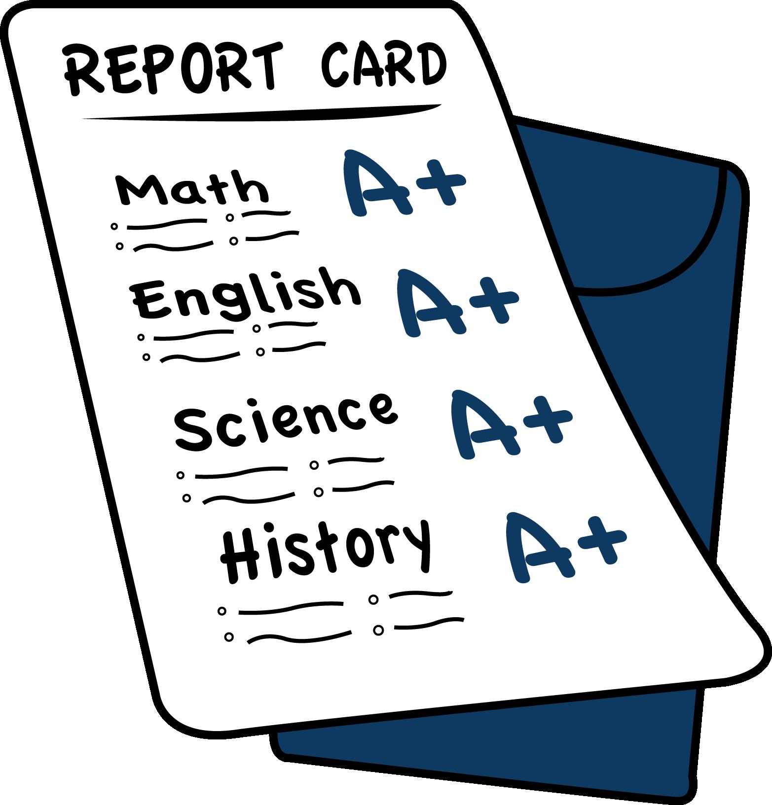 Good Grades In School Report Card | www.imgkid.com - The